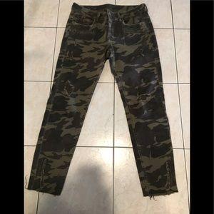 Zara camouflage jean